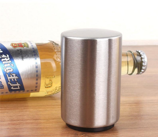 Stainless Steel Automatic Pop Up Bottle Opener-2877
