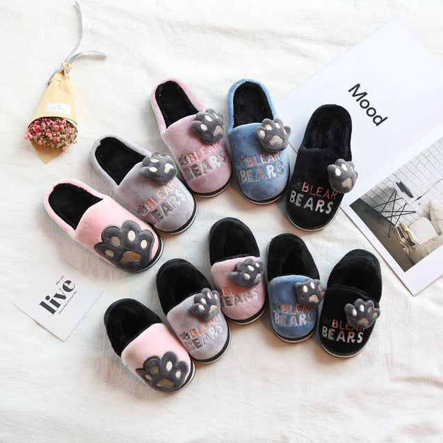 Unisex Indoor Home Slippers For Winters - 14145