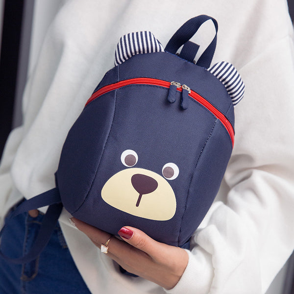 Qiao Cute bear kids shoulder bag