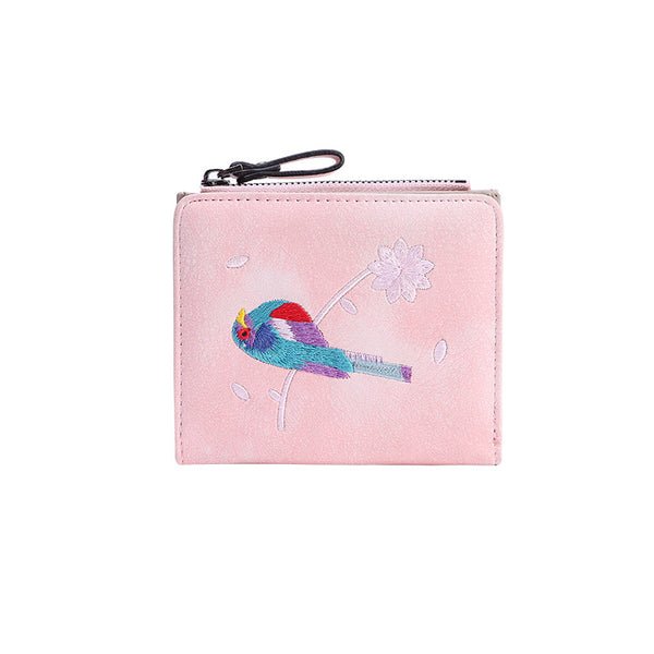 Cliff New women's Japanese retro wallet