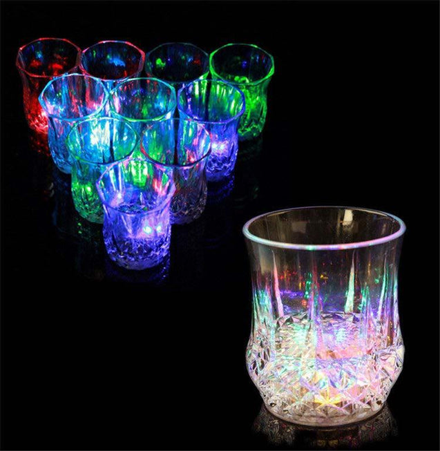 Creative Colorful LED Inductive Cup-1076