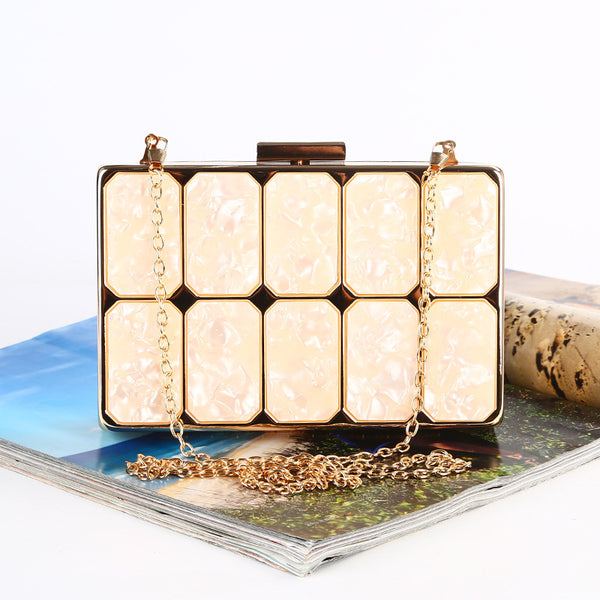 Cliché New acrylic fashion trend clutch