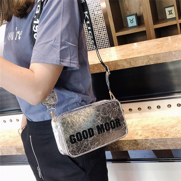 Brume New fashion letter printing small square bag