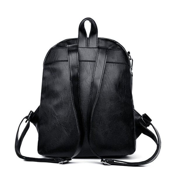 Dazz  fashion wild bag soft leather backpack
