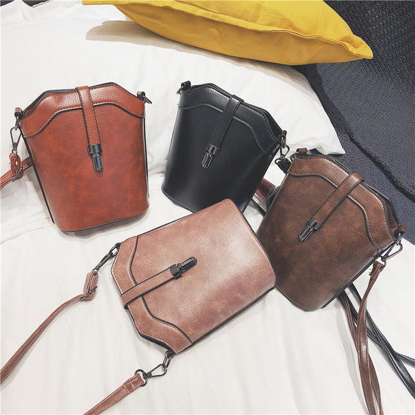 Brume New bullet lock bucket bag