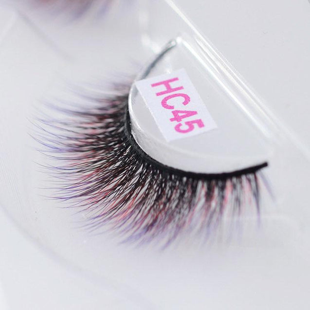 Long Soft Multicolored Eyelashes For mesmerizing Eyes -3664