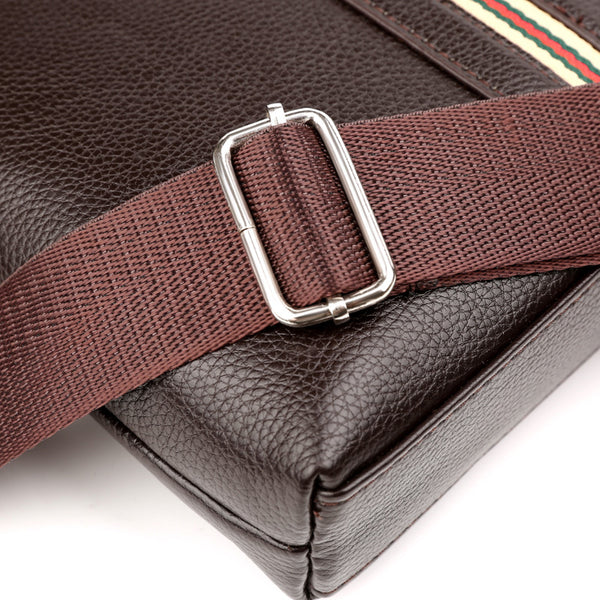 Ales Buckle Mens messenger bag
