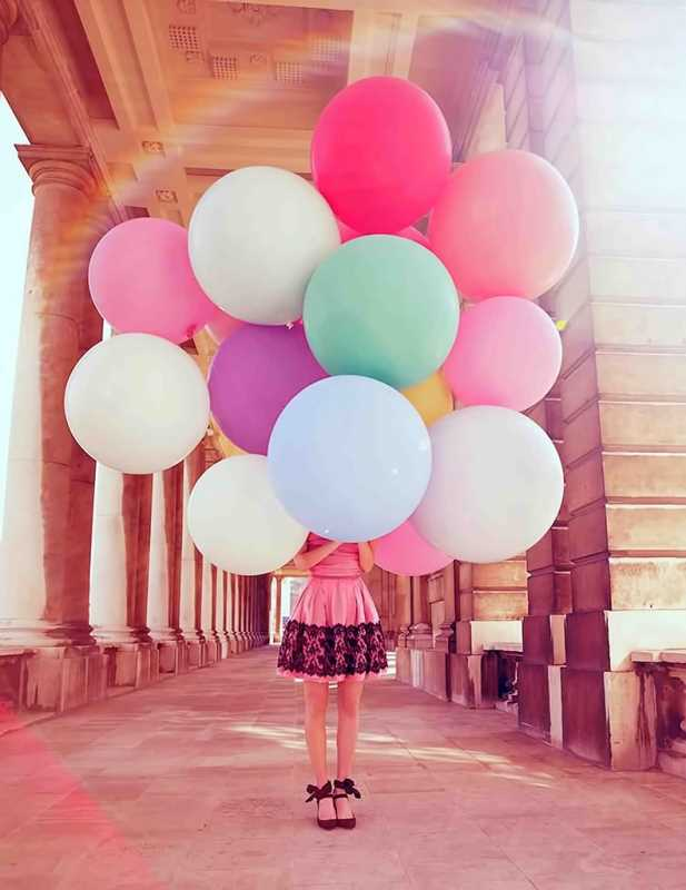 Decorative 36 Inch Extra Large Shooting Balloons For Festive Wedding Arrangement Wholesale -12314