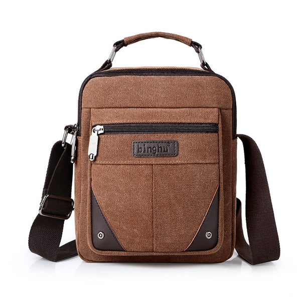 Canvas Mens Multi Function Backpack