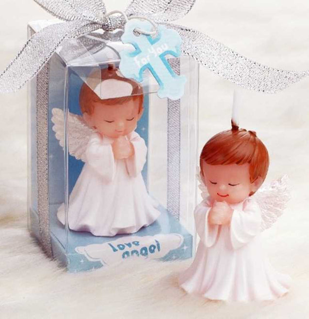 Small Angels Birthday Cake Decoration Candle - 13256