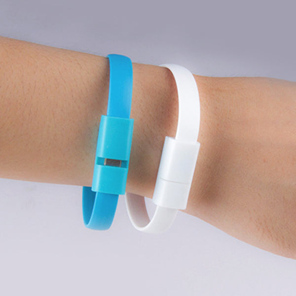Stylish and Innovative Bracelet Cum Charging Cable -7729