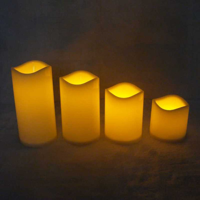 Cylindrical Led Electronic Candle -12811