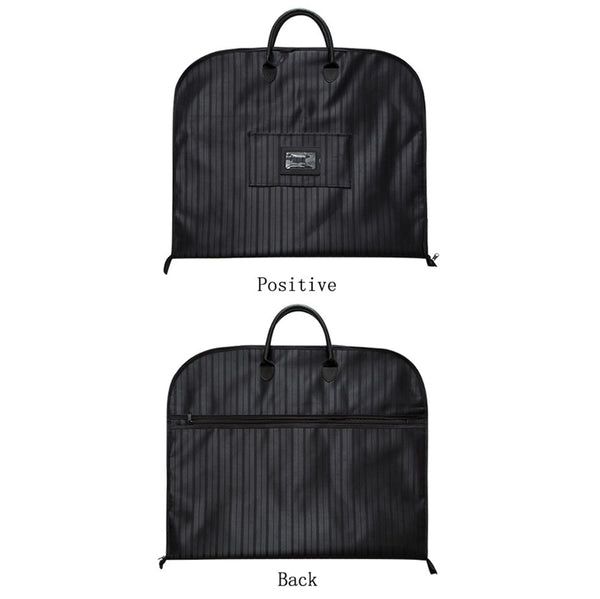 2018 Waterproof Folding Suit Bag Men Clothes Cover Black Oxford Garment Bags With Handle Business Men Travel Bags For Suits 232 - 23853
