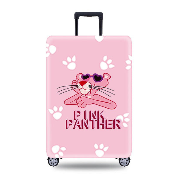 HMUNII New Pink Panther Travel Accessories  Protective Covers for Suitcases Elastic Luggage Cover Protector Apply to 18-32 inch  - 23828