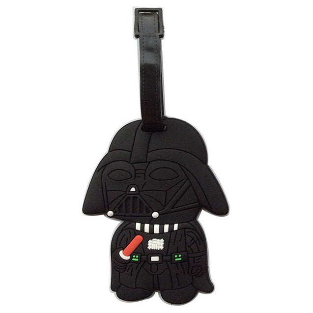 2017 New Travel Accessories Suitcase Luggage Tags Star Wars ID Address Holder Luggage Label Silicone Identifier Bag Accessories - 23722