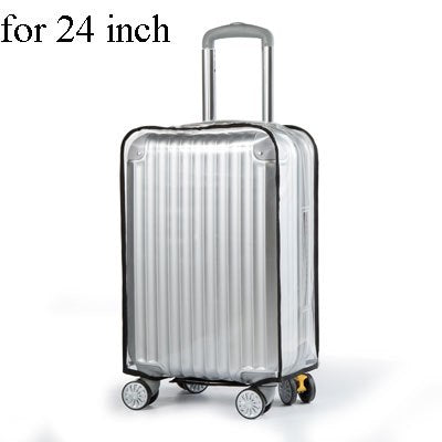 2018 Dust-proof luggage cover transparent waterproof Suitcase Protective Bags thicken 20''-30'' - 23823