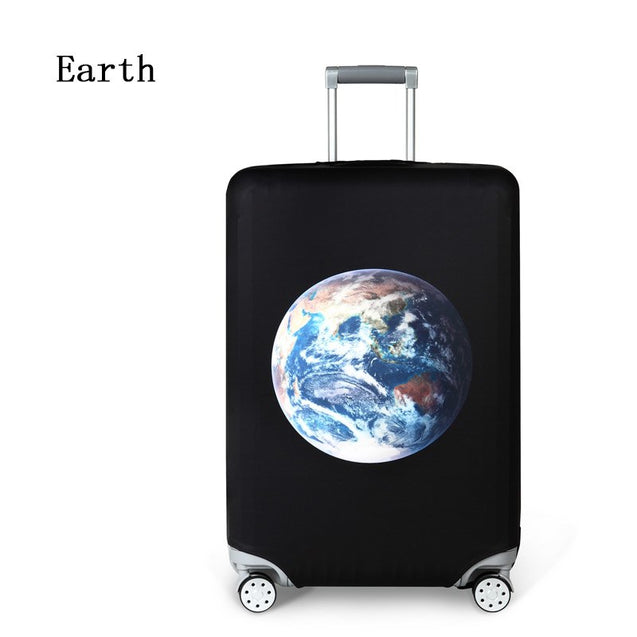 Elastic Travel Luggage Cover Dustproof Protective Travel Suitcase Cover For 18-32 Inch Trolley Bag Case Luggage Accessories - 23832