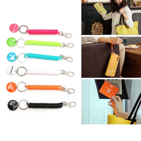 Anti-lost Strap For Key Chain Phone Passport Pouch Wallet Purse Travel Accessory 70-80 cm  - 23774
