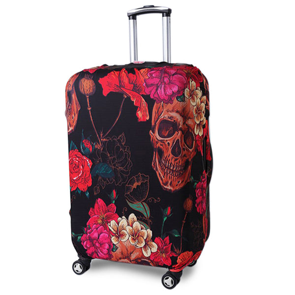 OKOKC Red Travel Luggage Suitcase Protective Cover for Trunk Case Apply to 19''-32'' Suitcase Cover Thicker Elastic - 23720