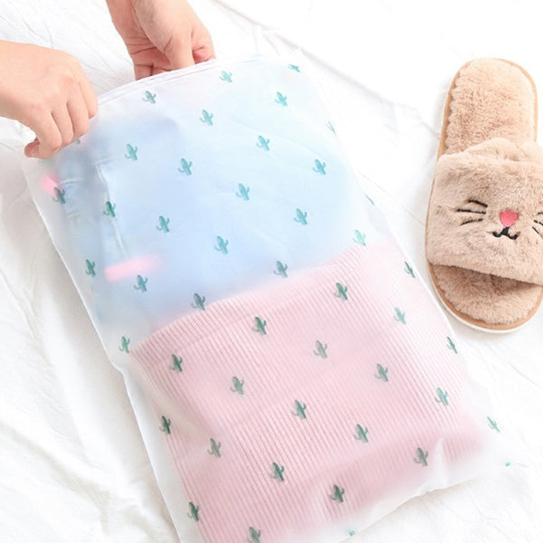 Multifunctional Waterproof Travel accessories  Cosmetics Washing  Bag Transparent zipper bag 5 Size - 23717