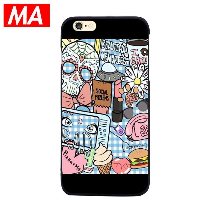 funny cartoon personalized iphone 6 case 1478 globepandaapple, iphone, iphone6, matte finish, silicone, phone case, mobile cover