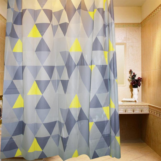 Shower curtain, washroom, bathroom, waterproof, décor, accessory, home, hotel, restaurant