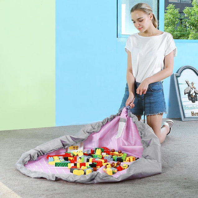 Children Toys Drawstring Bag Organisers - GlobePanda