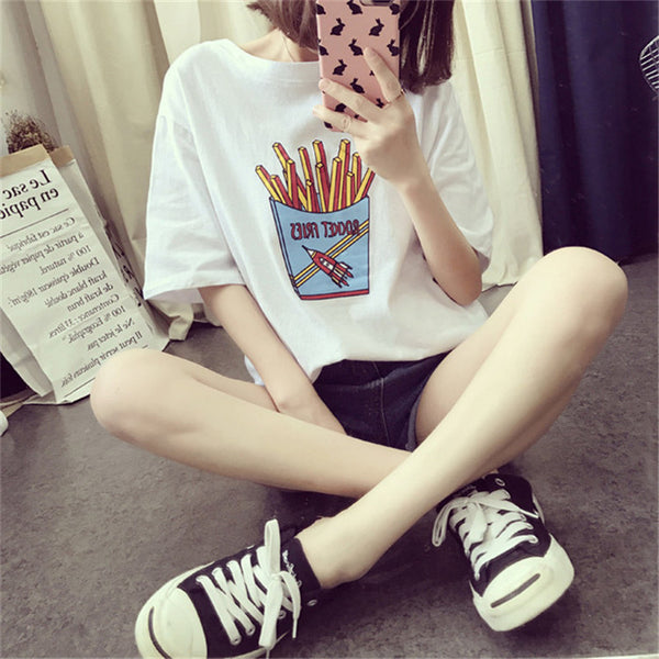 Princess Polyester Round Neck T-Shirt