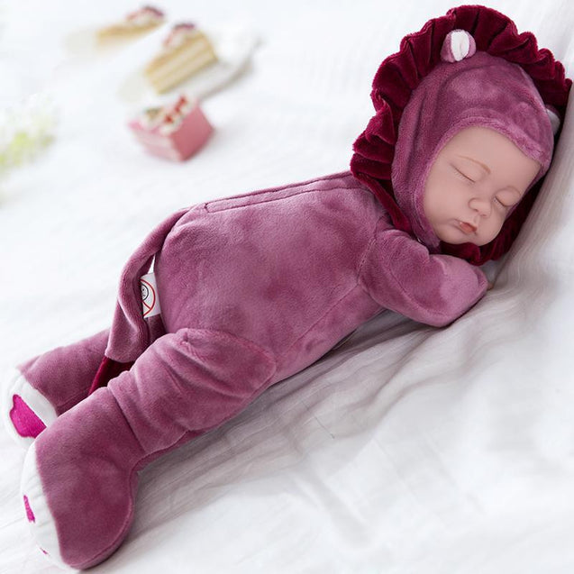 Singing & Sleeping Musical Realistic Baby Doll-3079