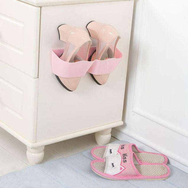 Wall Mounted Suction Style Shoe Rack-1244