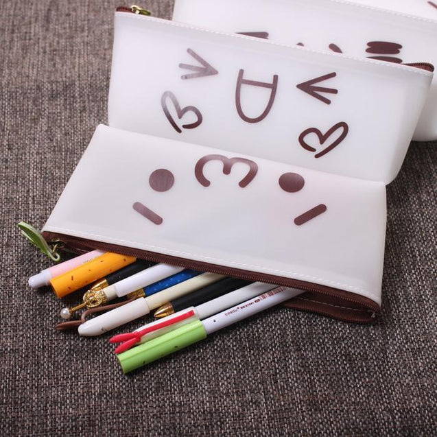 Stationery, pencil case, storage box, creative, school, office, home, kids