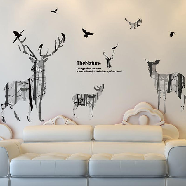 3D Stereoscopic Visual System Wall Sticker Wall Sticker - GlobePanda