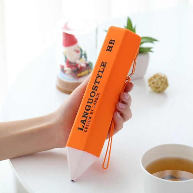 Creative High Capacity Silicone Pencil Holder-2408