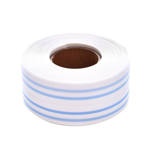 self adhesive, antifouling tape, washroom, gas stove sealing, waterproof, anti bacterial, kitchen, elastic