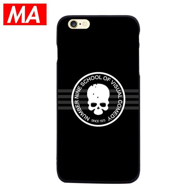Creative Spoof Couple Tide Brand iPhone 6S Silicon Case-1464