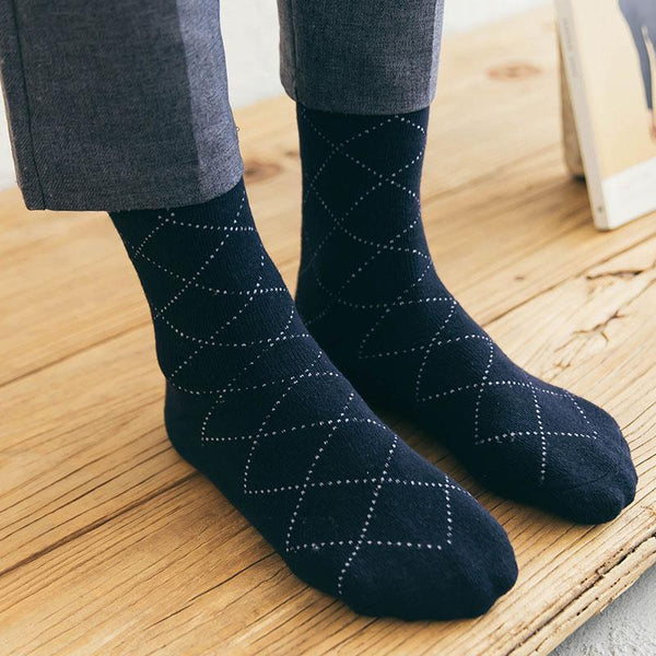 Thick Warm Cotton Winter Terry Towel Men Socks-3049