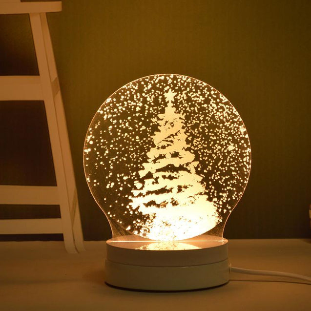 Stereoscopic Night Light LED Table Lamp-2767