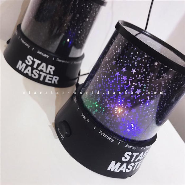 Creative Star Projector LED Night Lamp-2776