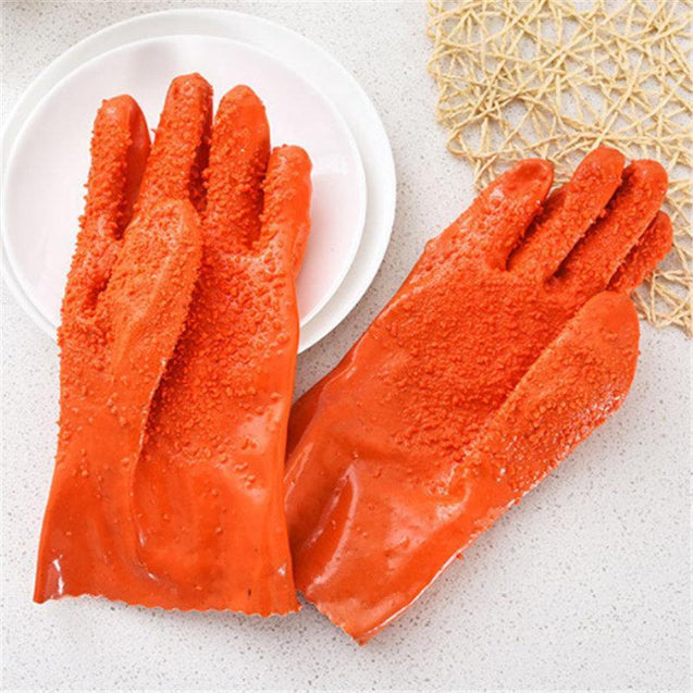 Japanese-Style Vegetable Scraping Rough Glove-2967