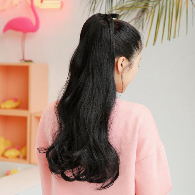 Long Wavy Hair Extensions-3502