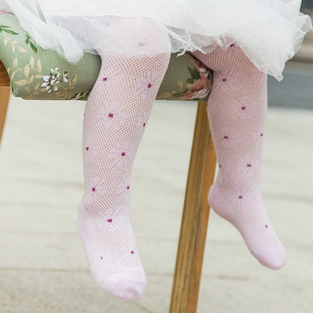 Cotton Baby Girl Pantyhose (Pack Of 1)