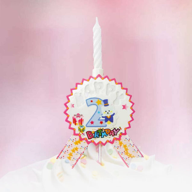New High-End Music Cake Decoration Candle -13254