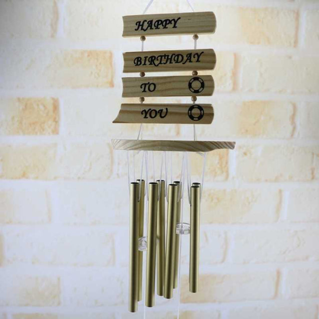 Creative Metal Aluminum Tube Sound Wind Chimes -12832