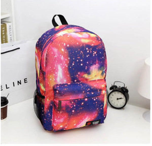 Motif Korean Style Star Backpack Bag - 26774