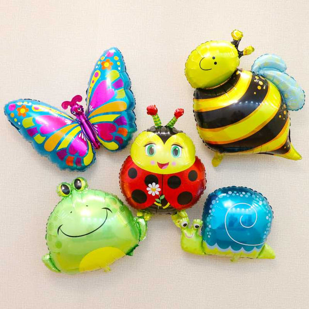 Aluminum Foil Film Balloon Bee Butterfly Frog Snail Ladybug Balloon Wholesale -12320