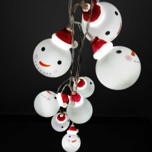 Decorative Snowman Led Light String- 12733