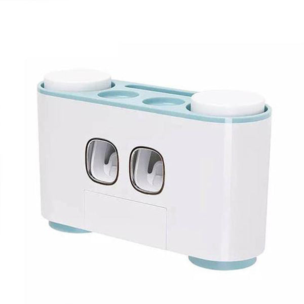 Automatic Toothpaste Squeezer And Toothbrush Holder-12677