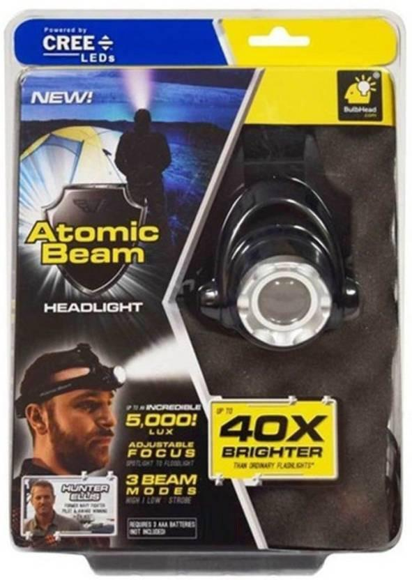 atomic beam light, ultra bright torch, traveling light