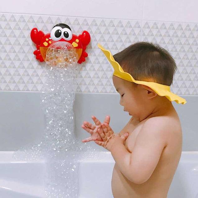 Happy Bubble Crab Music Foaming Machine Bathroom Bathing Water Toy-12668