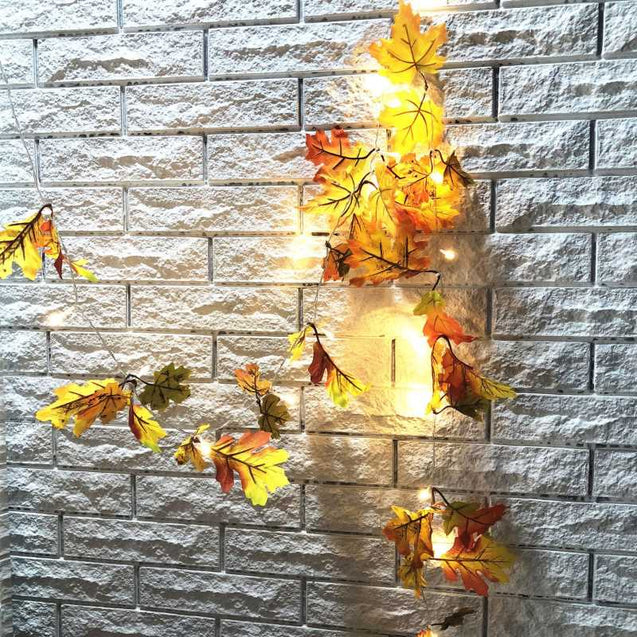 Creative Maple Leaf Led Lights String- 12790